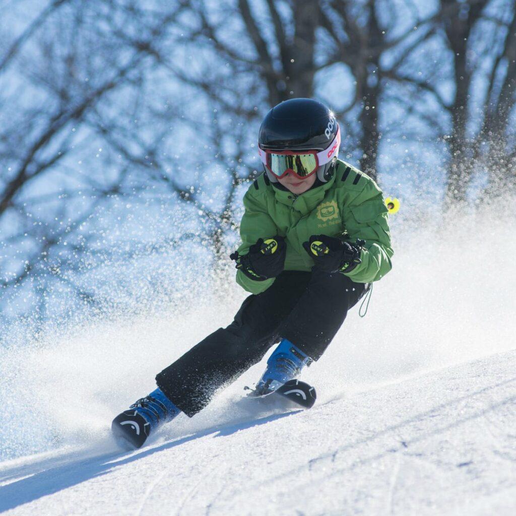 Hodiny lyžovania pre deti
